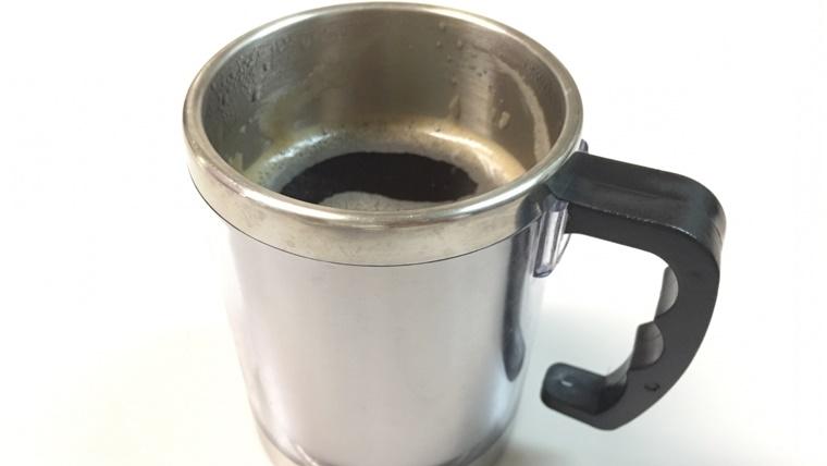 保温マグカップ