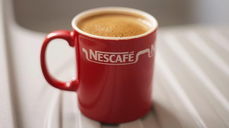 ネスカフェのインスタントコーヒー