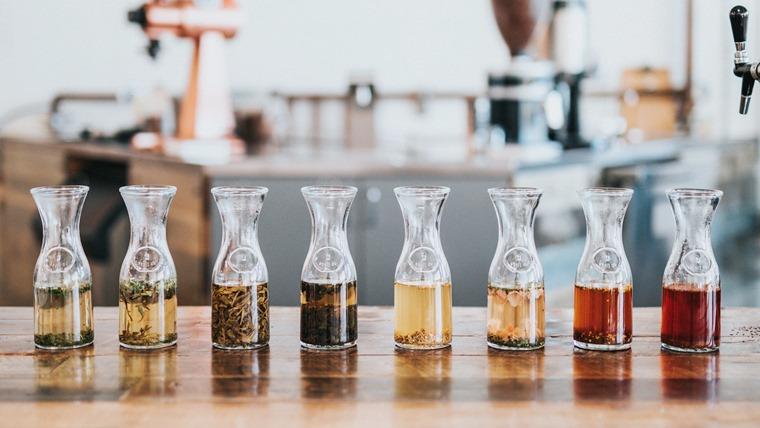 コーヒーと紅茶と緑茶
