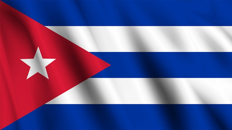 キューバの国旗