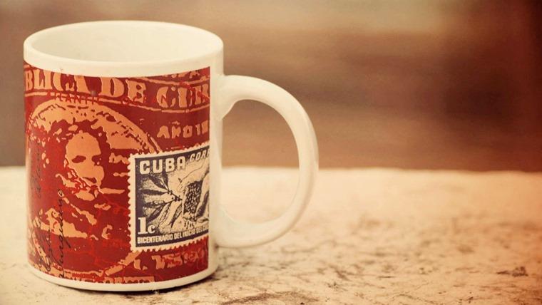 キューバのコーヒーカップ
