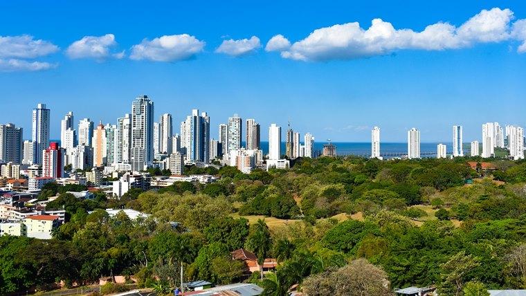 パナマの風景