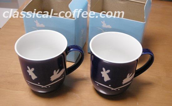 たち吉のマグカップ2個