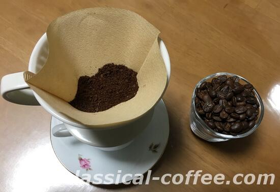 ドリップコーヒーの準備
